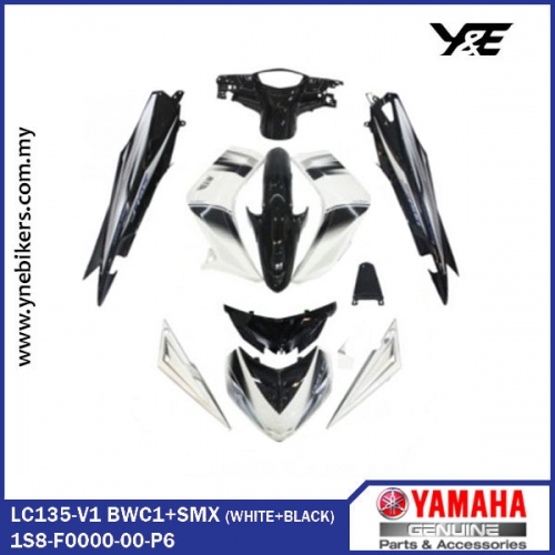 FULL COVER SET-H LEONG BWC1+SMX (LC135-V1) - Y&E Bikers