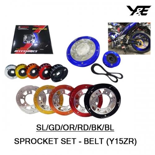SPROCKET SET YAMAHA-BELT (Y15-ZR) - Y&E Bikers World Sdn Bhd - We