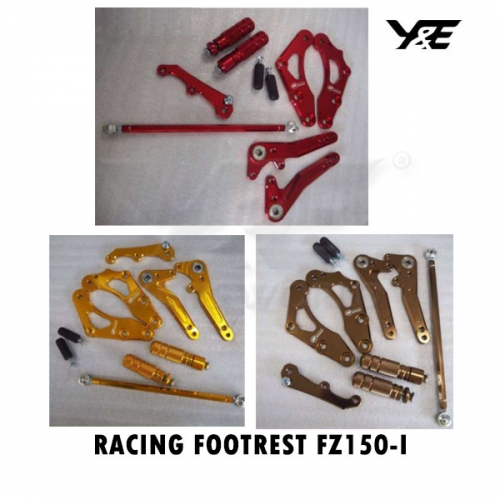 RACING FOOTREST FZ150-I - Y&E Bikers World Sdn Bhd - We can