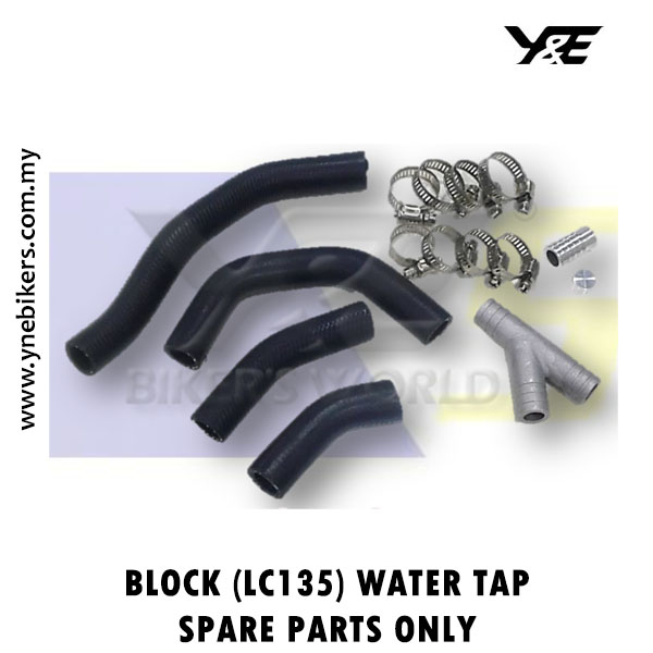 SR BLOCK (LC135) WATER TAP SPARE PARTS ONLY - Y&E Bikers