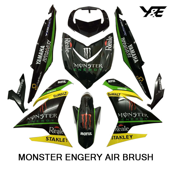 Air brush cover monster engery y15zr