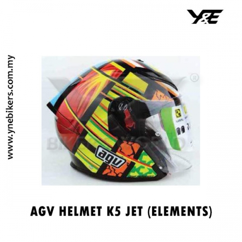 Agv Helmet K5 Jet Elements Y E Bikers World Sdn Bhd We Can Reach Wherever You Are Br No Need To Step Out From Your House