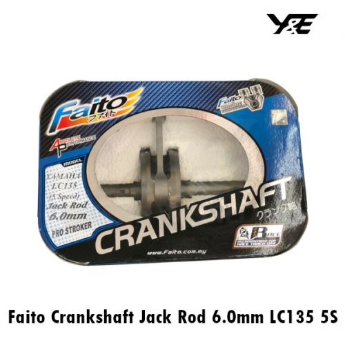 Faito Crankshaft Jack Rod 6 0mm LC135 5S - Y&E Bikers World Sdn Bhd